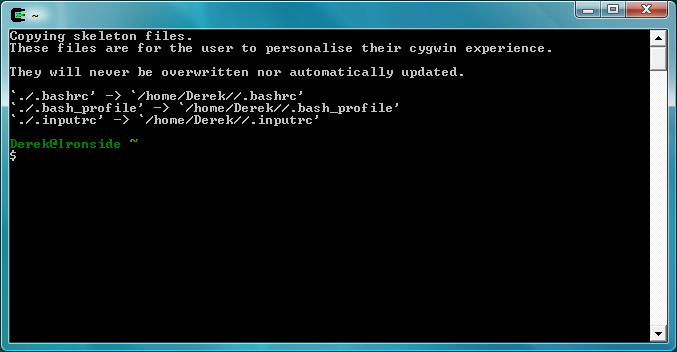 Getting Started With Cygwin · Los Techies